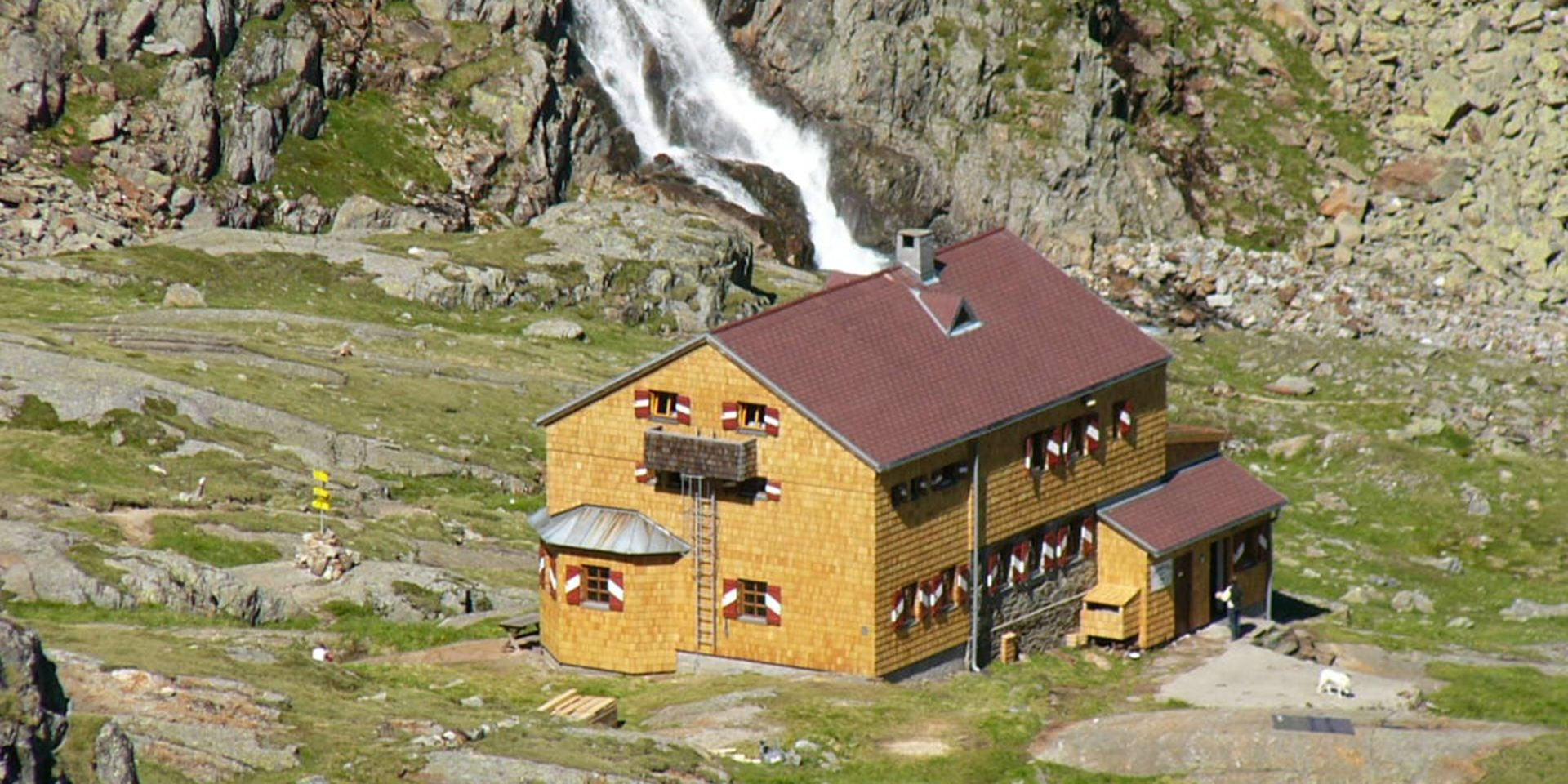 Wiener Höhenweg Elberfelder Hütte