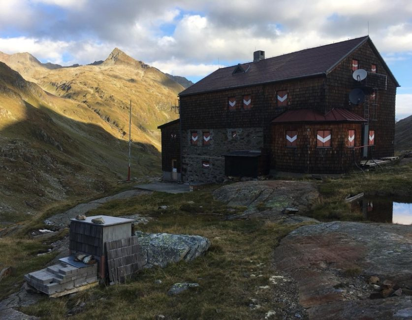 Elberfelder Hütte Saisonende