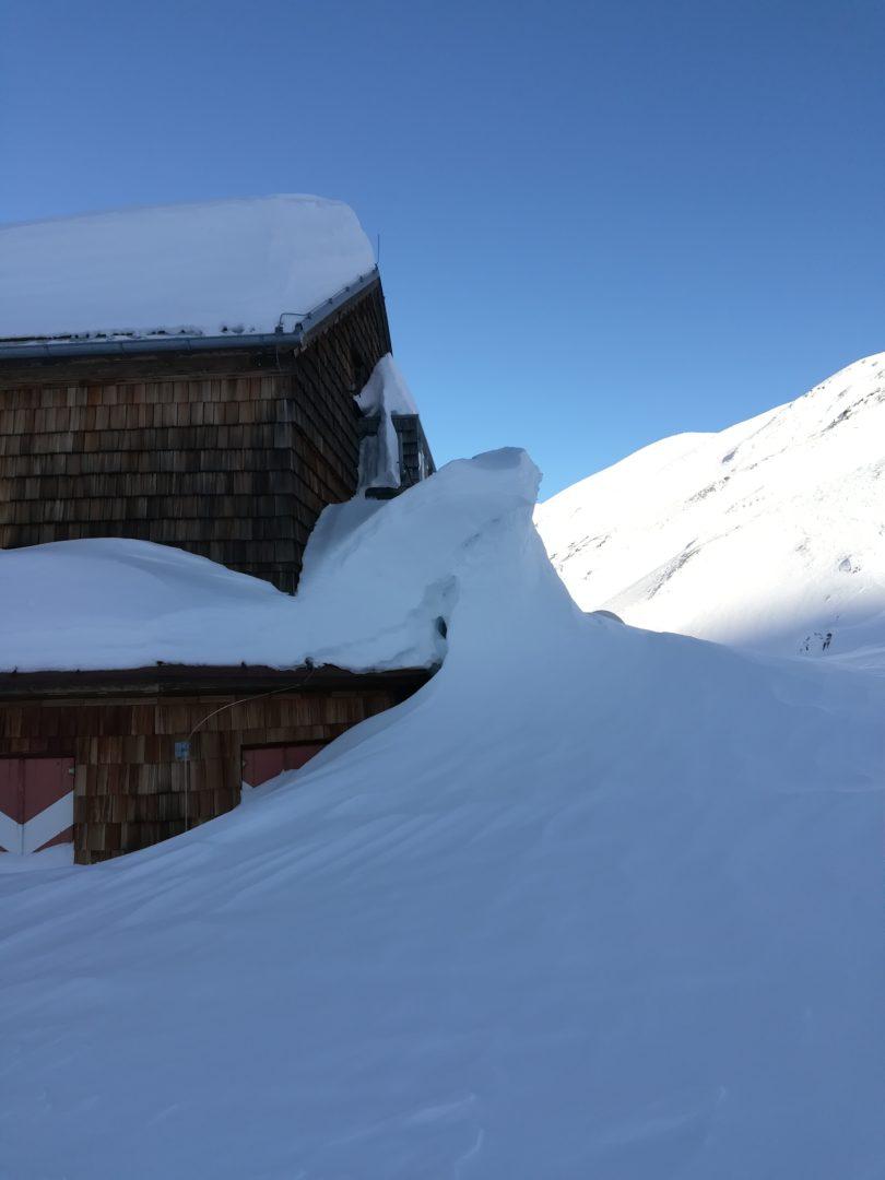 Elberfelder Hütte im Winterschlaf 2019