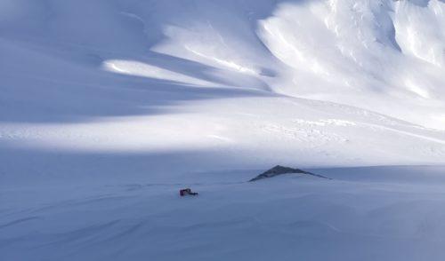 Artikelbild zu Artikel Die Elberfelder Hütte ist nun im Winterschlaf