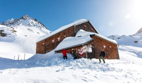 Artikelbild zu Artikel Elberfelder Hütte im Winter
